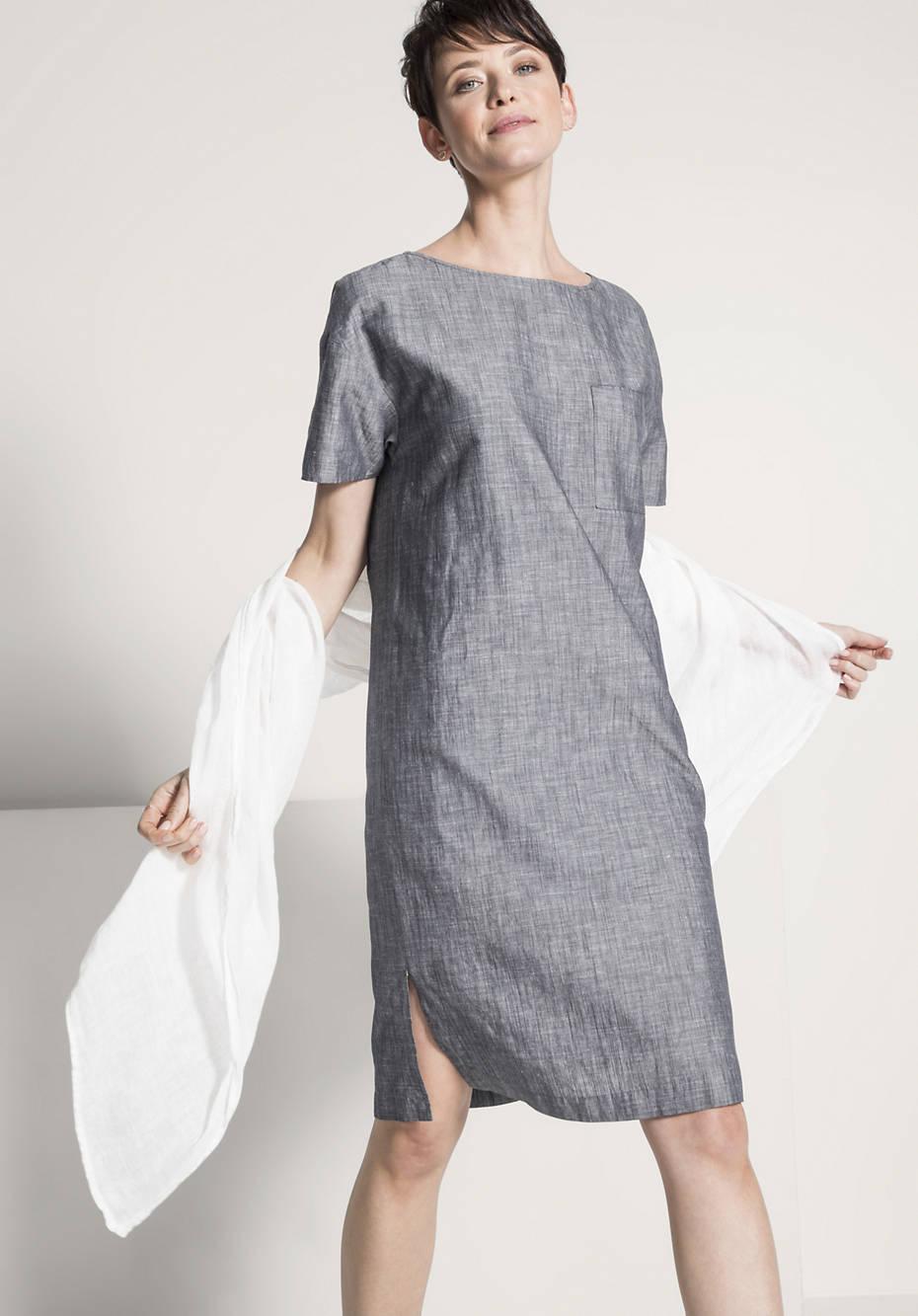 Kleid aus Bio-Baumwolle mit Leinen from Hessnatur