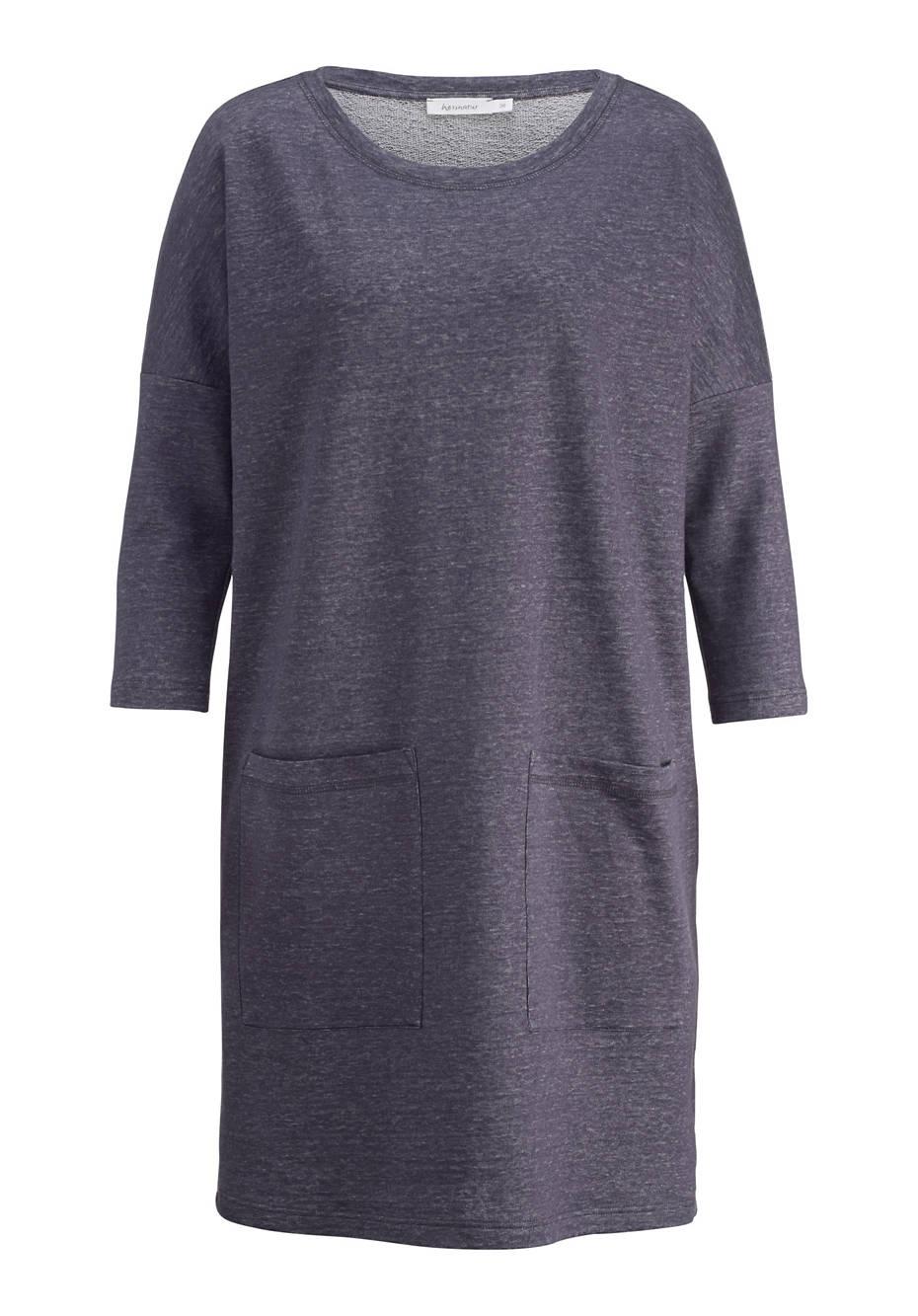Kleid aus Leinen mit Bio-Baumwolle