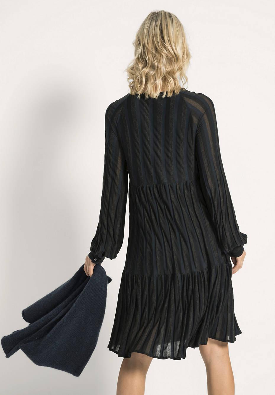 Kleid aus Modal mit Bio-Baumwolle und Schurwolle
