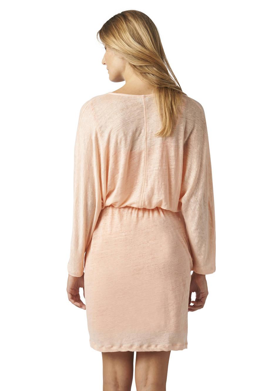 Kleid aus reinem Hanf