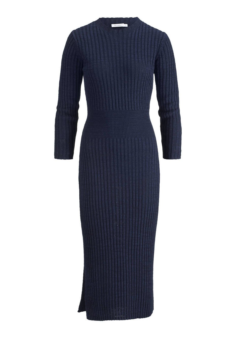 Knit dress made of linen and organic cotton