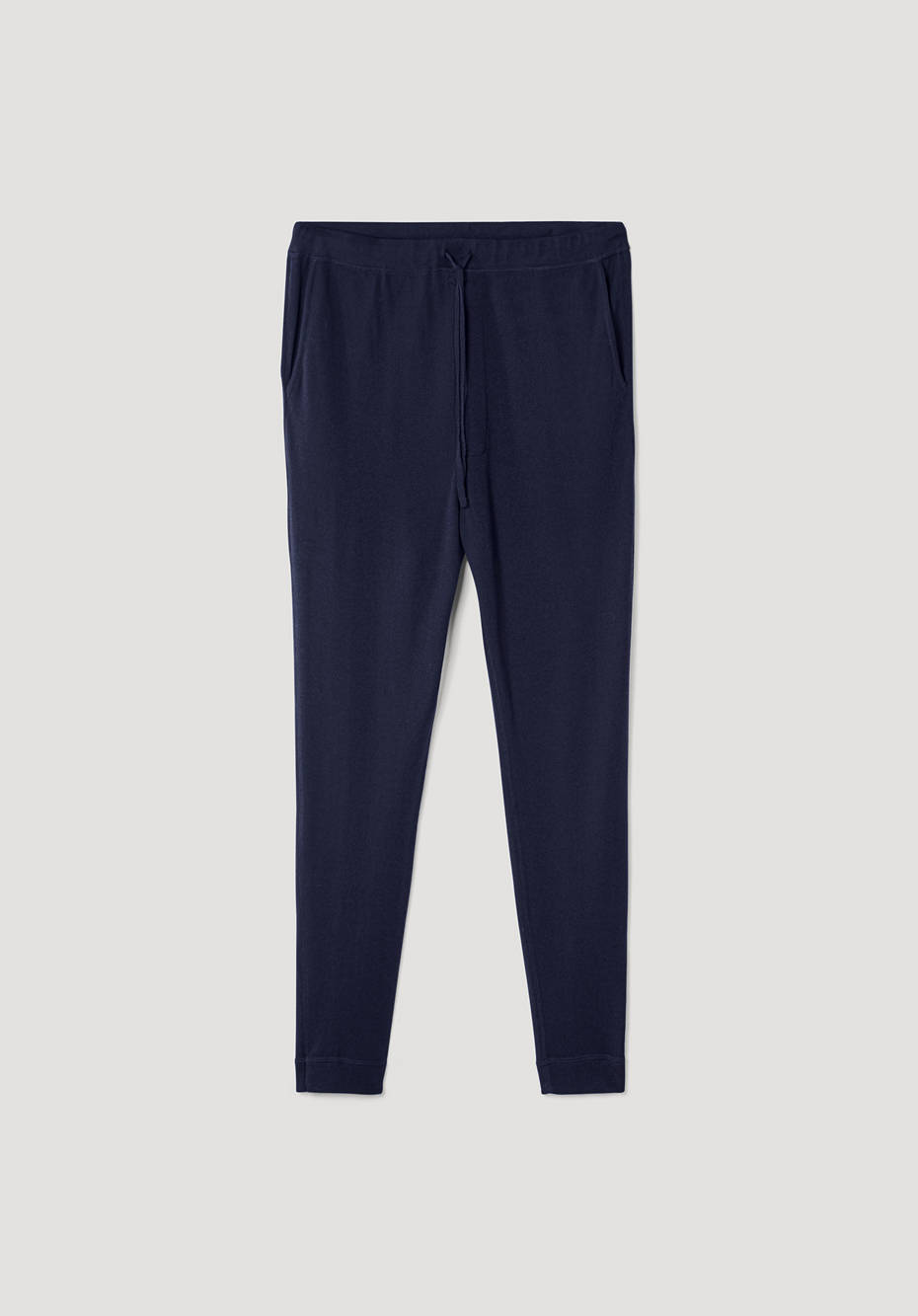Knitted pants made from pure organic merino wool