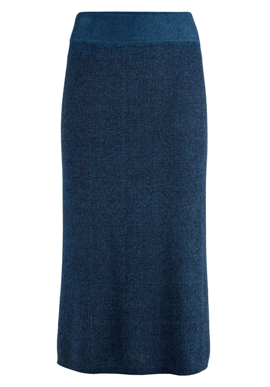 Knitted skirt organic cotton and linen