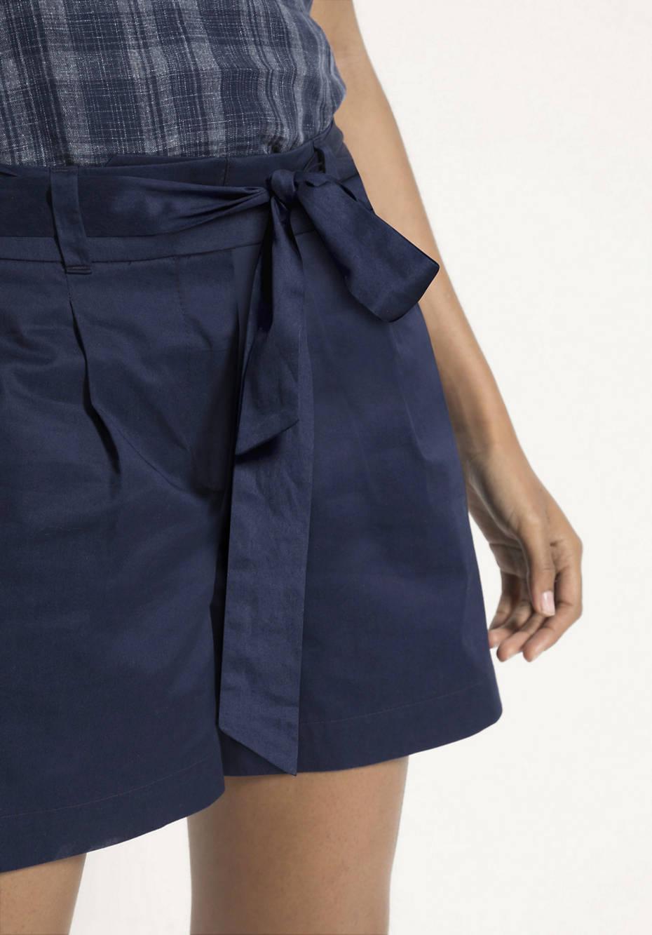 Kurze Hose aus reiner Bio-Baumwolle