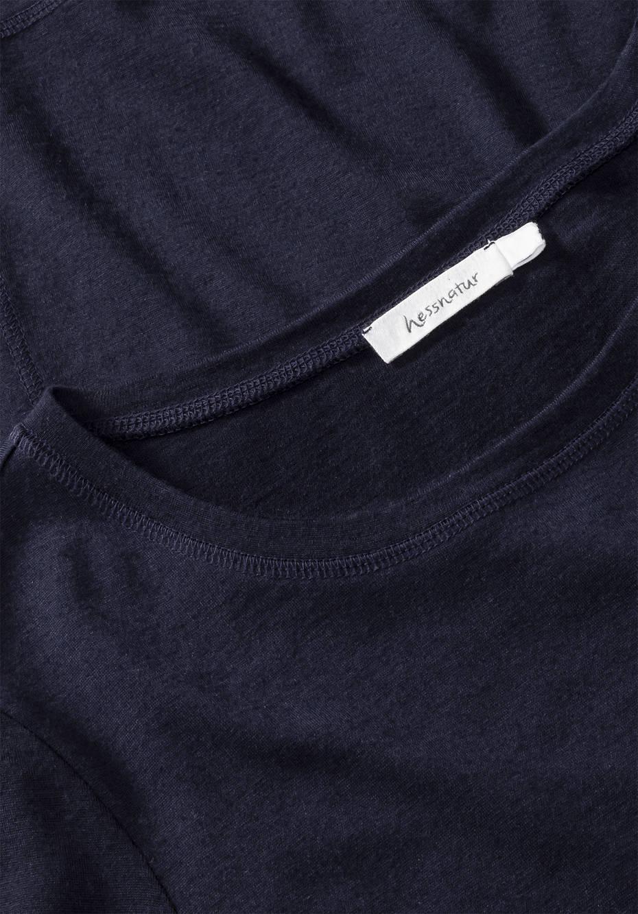 Langarmshirt aus reiner Bio-Merinowolle