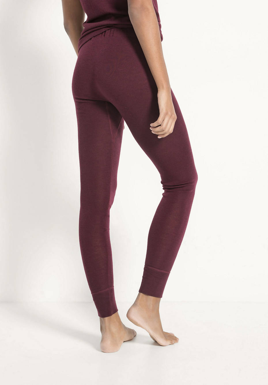 Lange Pants PureWOOL aus reiner Bio-Merinowolle
