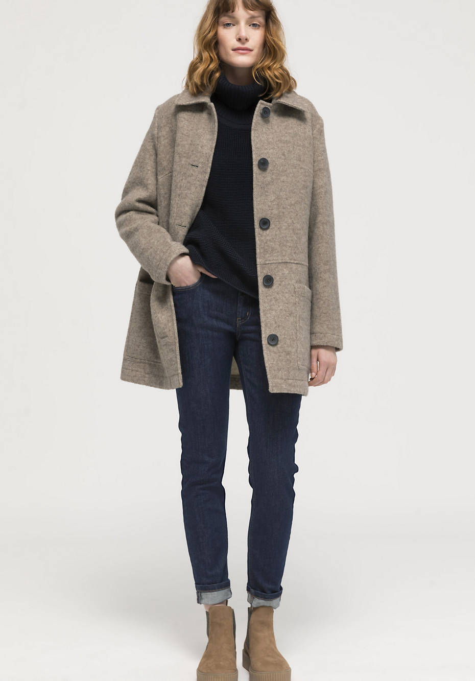 Limited by Nature Rhön jacket made from pure new wool