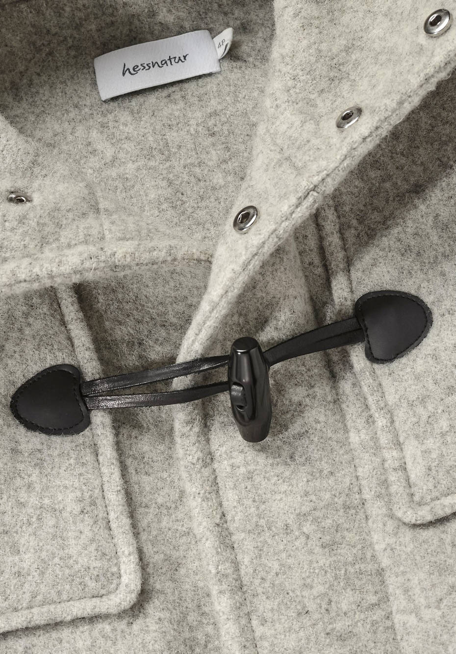 Limited by Nature duffle coat made of pure new wool