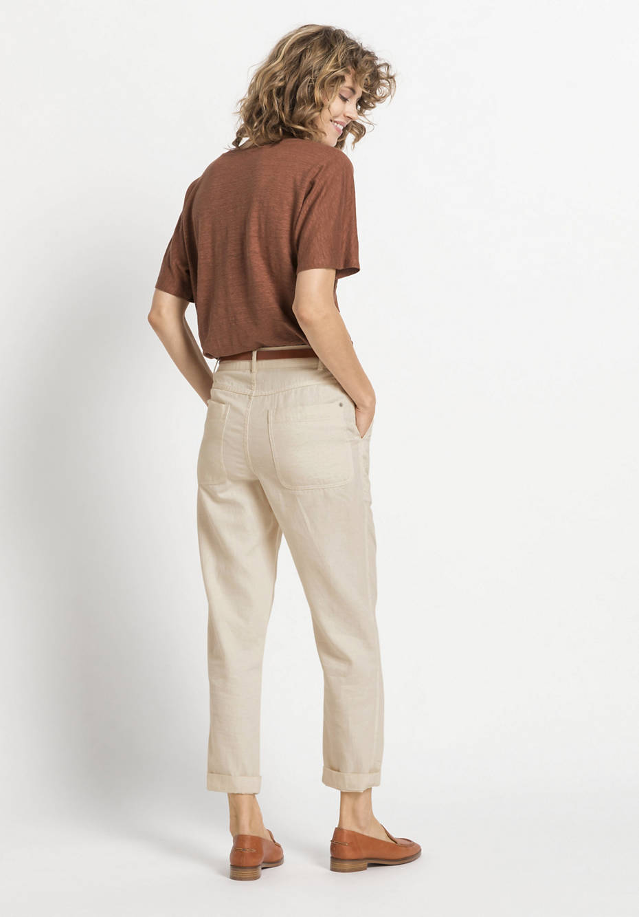 Limited by Nature pants made of organic cotton with linen
