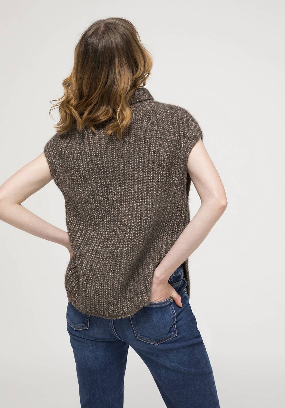 Limited by Nature pullover made of alpaca with pima cotton