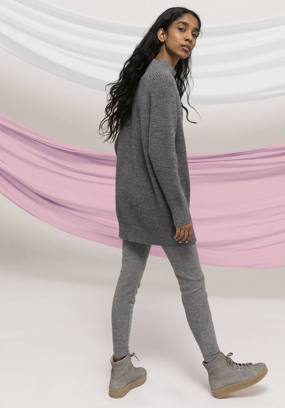 Limited by Nature sweater made of organic merino wool with alpaca