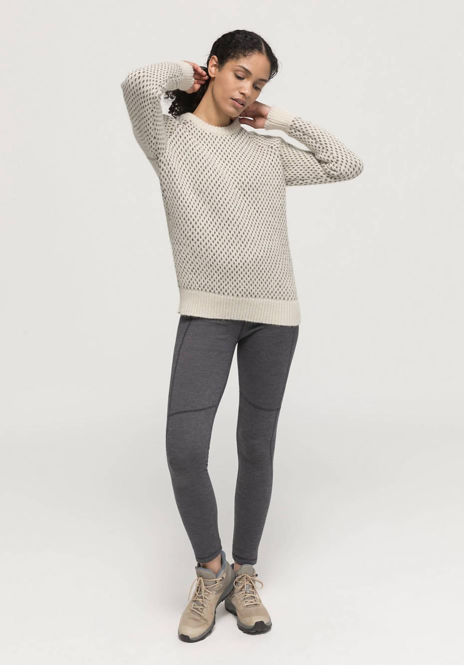 Limited by nature Outdoor-Pullover aus Alpaka mit Rhönwolle