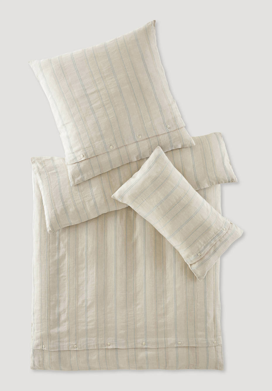Limoges bed linen set made from organic linen with organic cotton