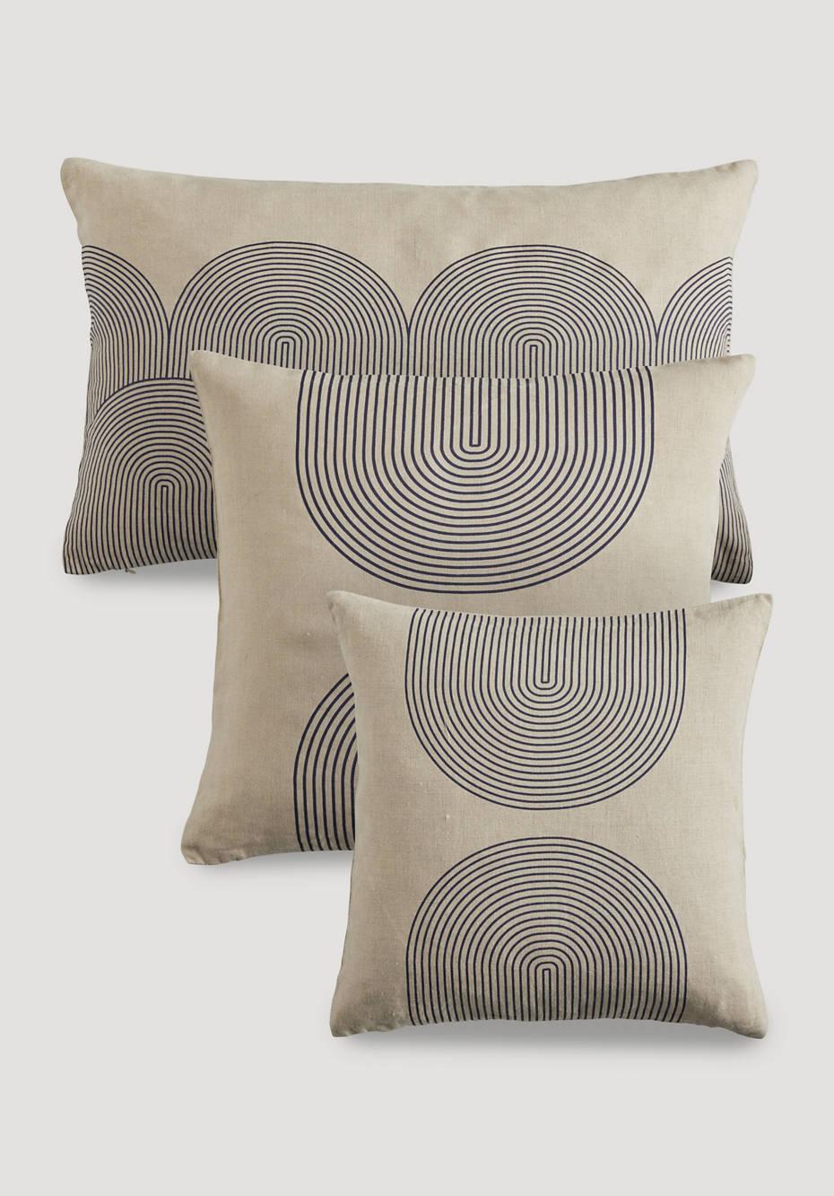 Linen cushion cover Samu