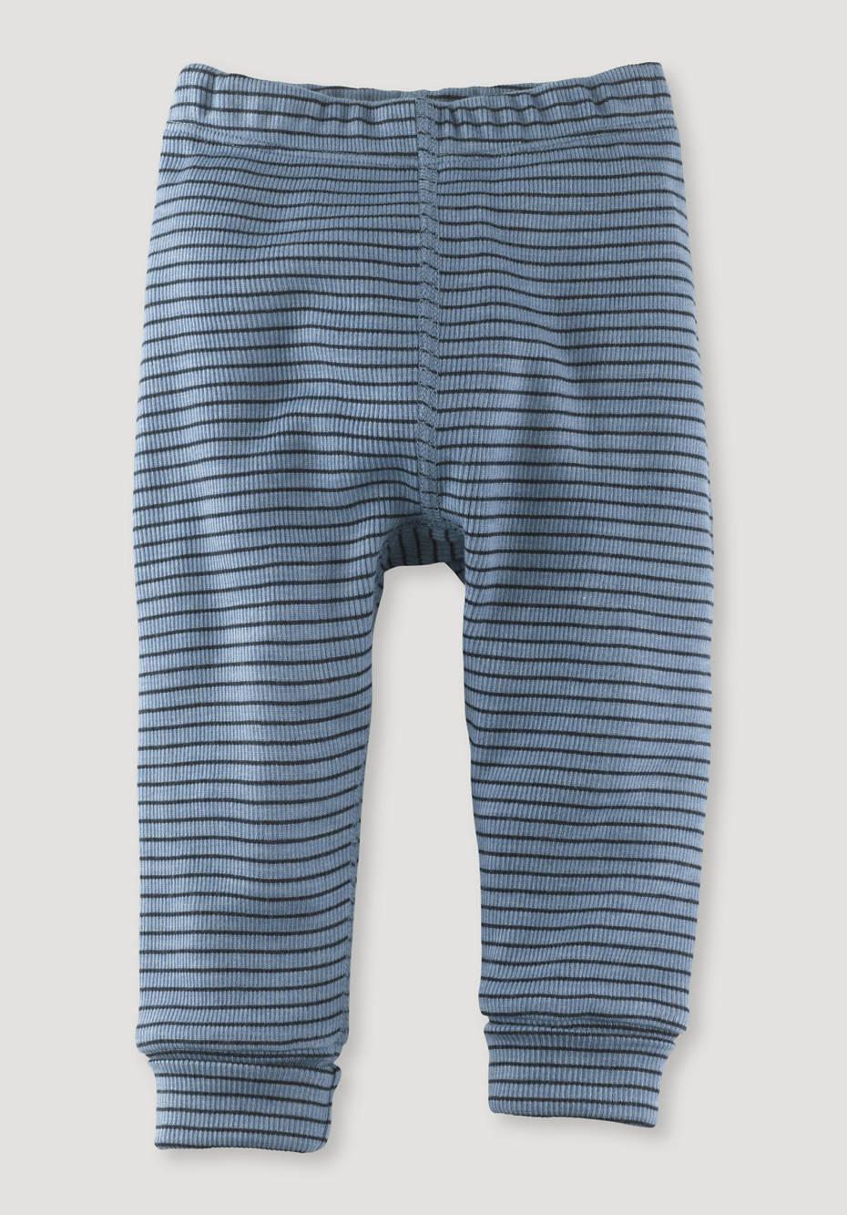 Long johns made of organic merino wool and silk