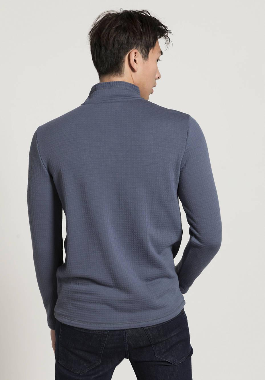 Longsleeve made of pure organic merino wool