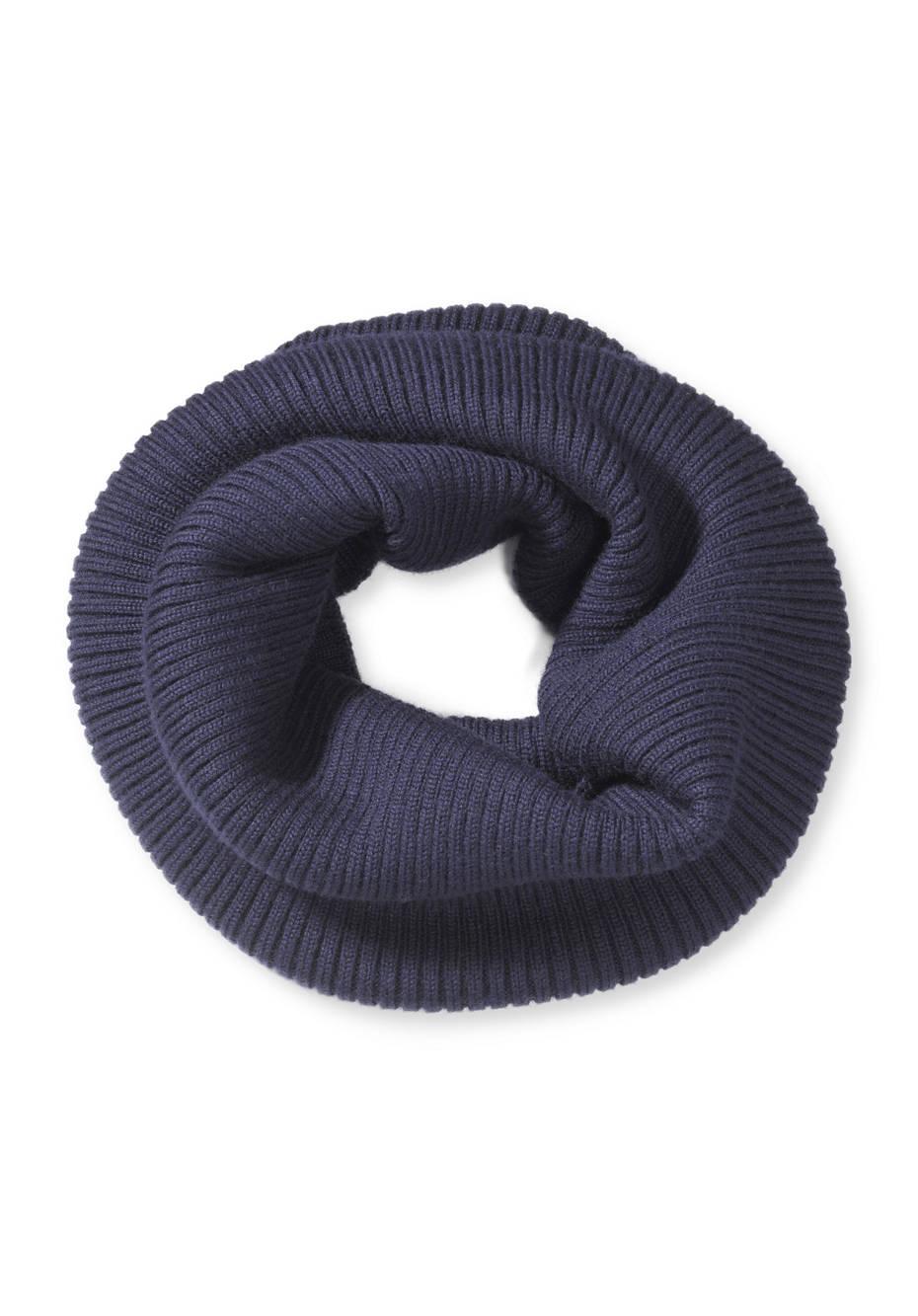 Loop-Schal aus reiner Merinowolle