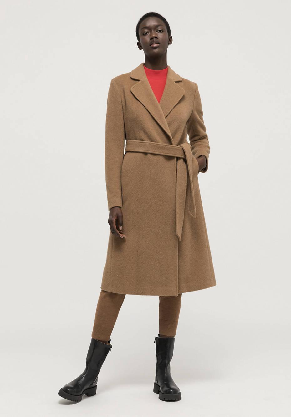 Mantel aus reinem Kamelhaar