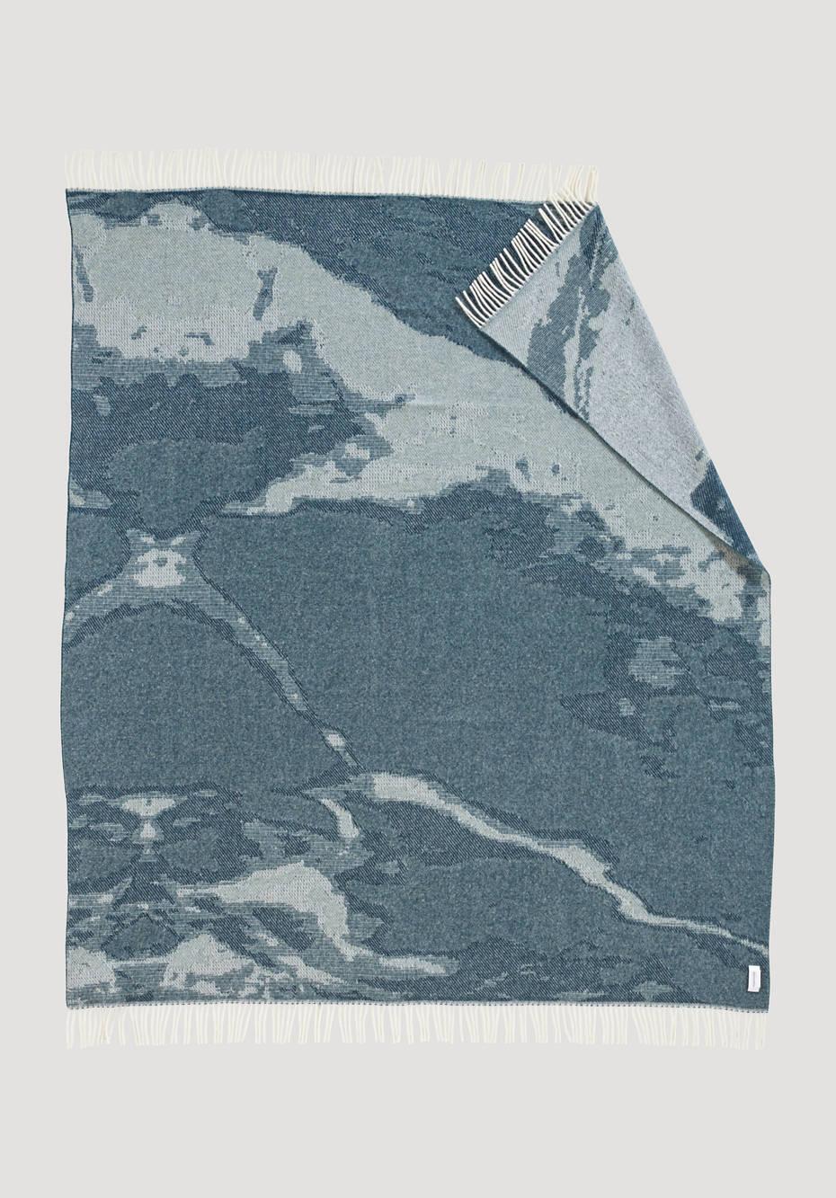 Merino-Plaid Jasugi aus reiner Schurwolle