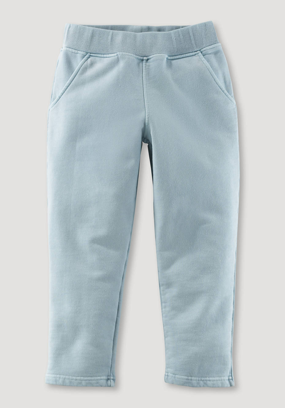 Mineral-dyed sweatpants made from pure organic cotton