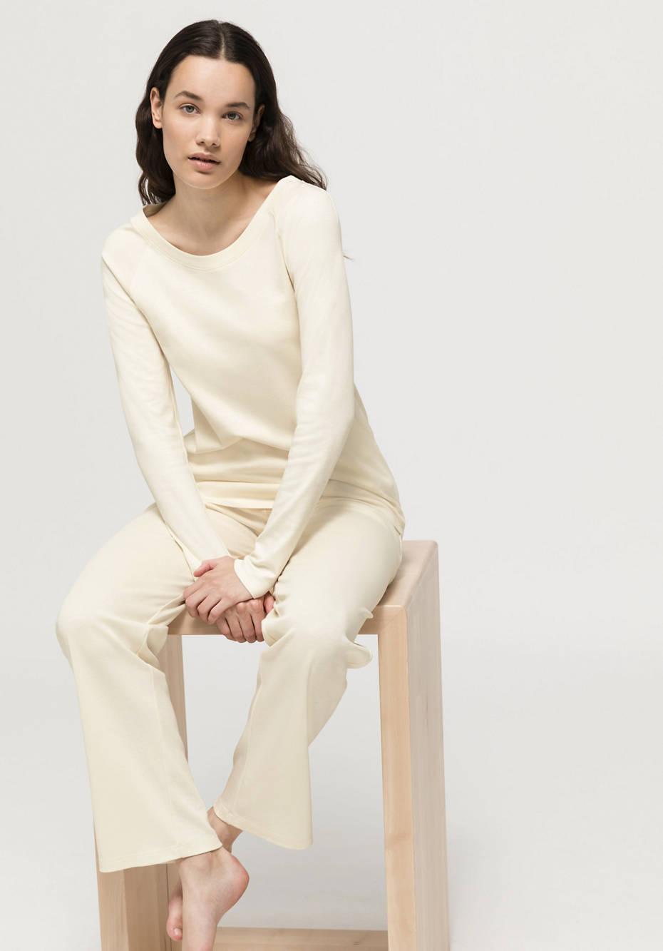 ModernNATURE sleep shirt made of pure organic cotton