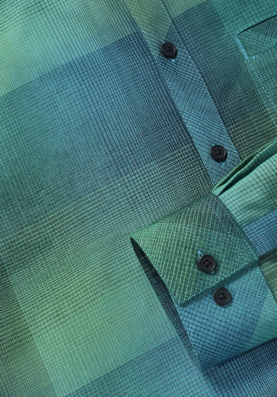 Modern Fit checked shirt made of pure organic cotton