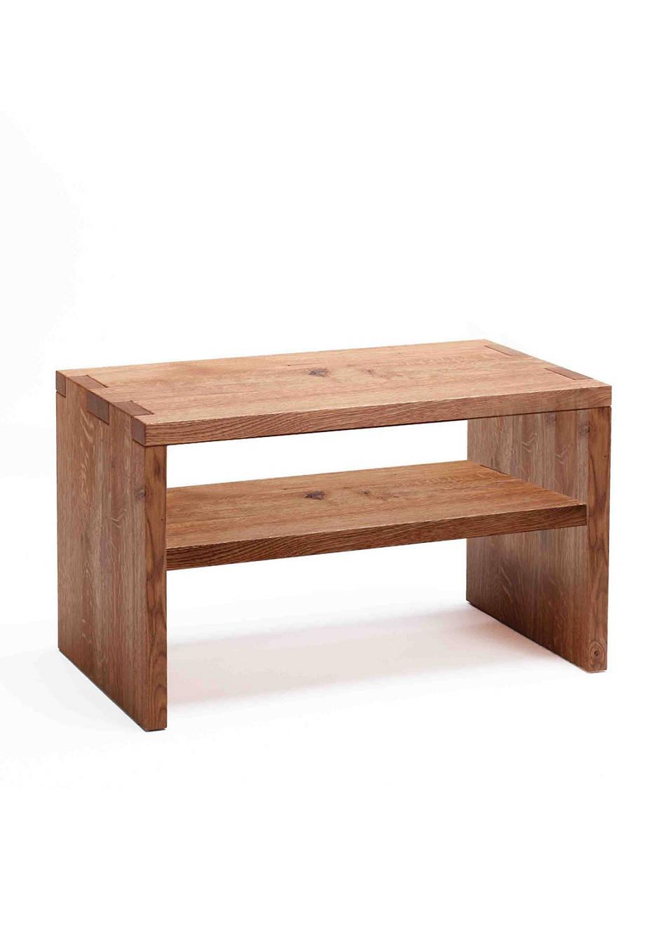 Nachttisch Nap mit Holzboden