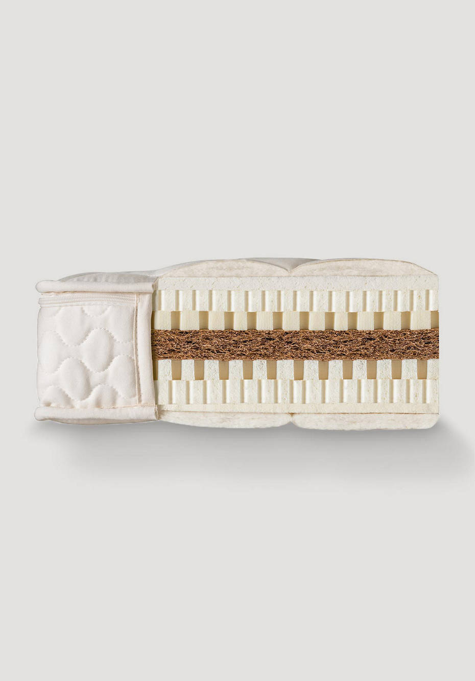 Natural latex mattress BASIC with coconut core