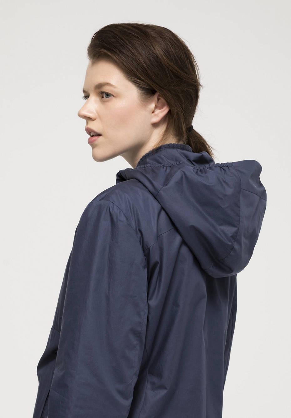 Nature Shell hooded jacket