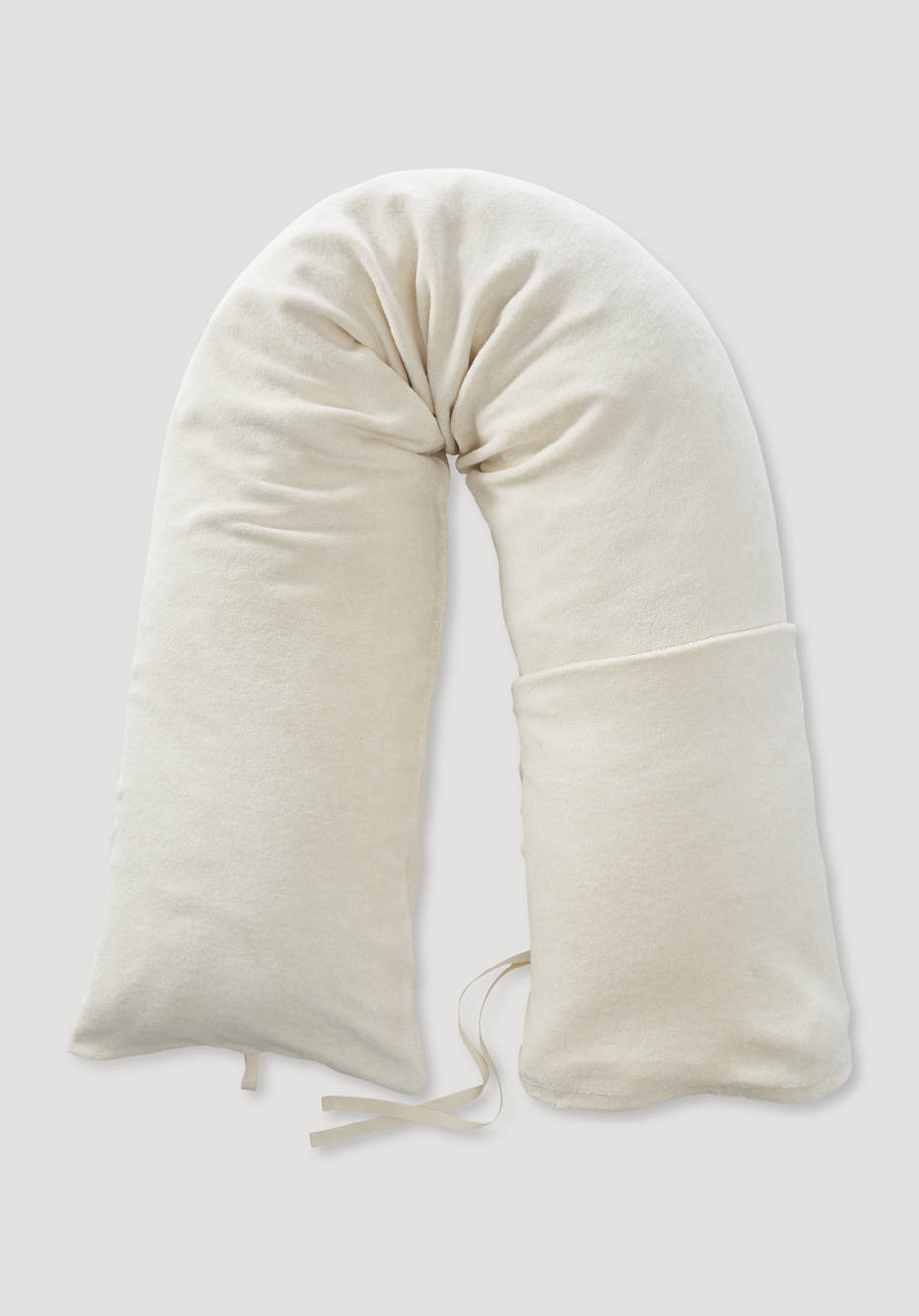 Nursing pillow case made from pure organic cotton