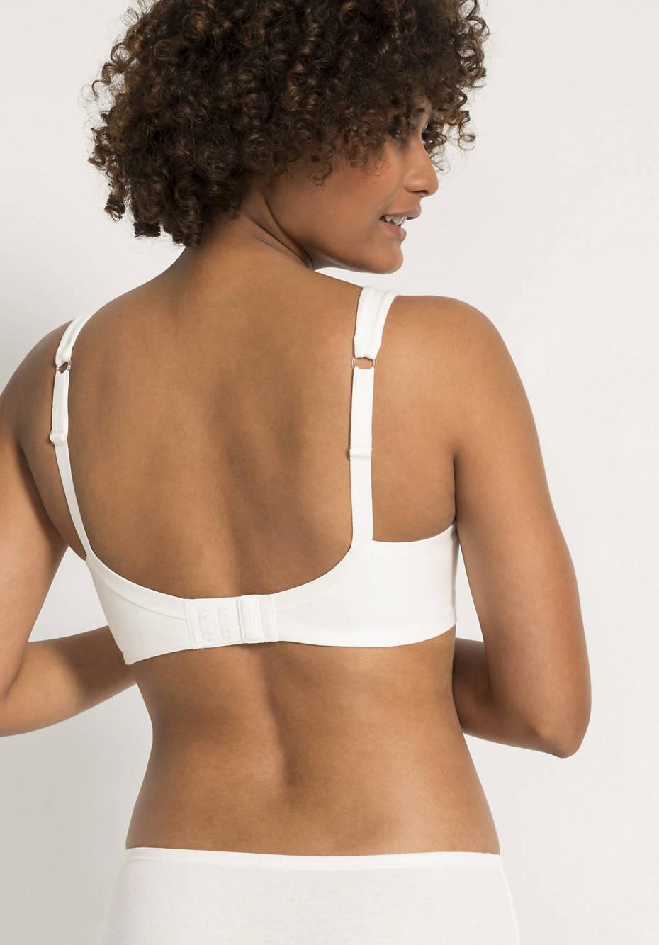 Organic cotton nursing bra