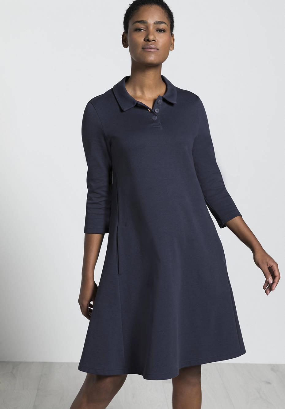 Organic cotton polo dress