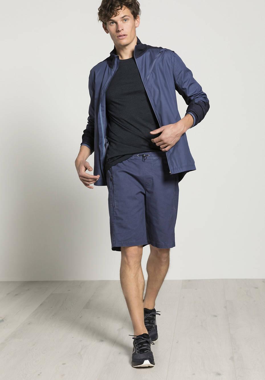 Organic cotton shorts with hemp