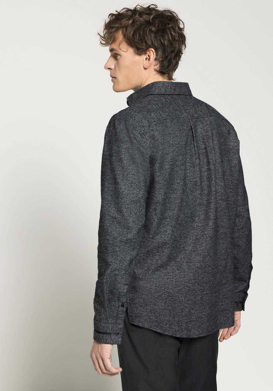 Overshirt Loose Fit aus reiner Bio-Baumwolle