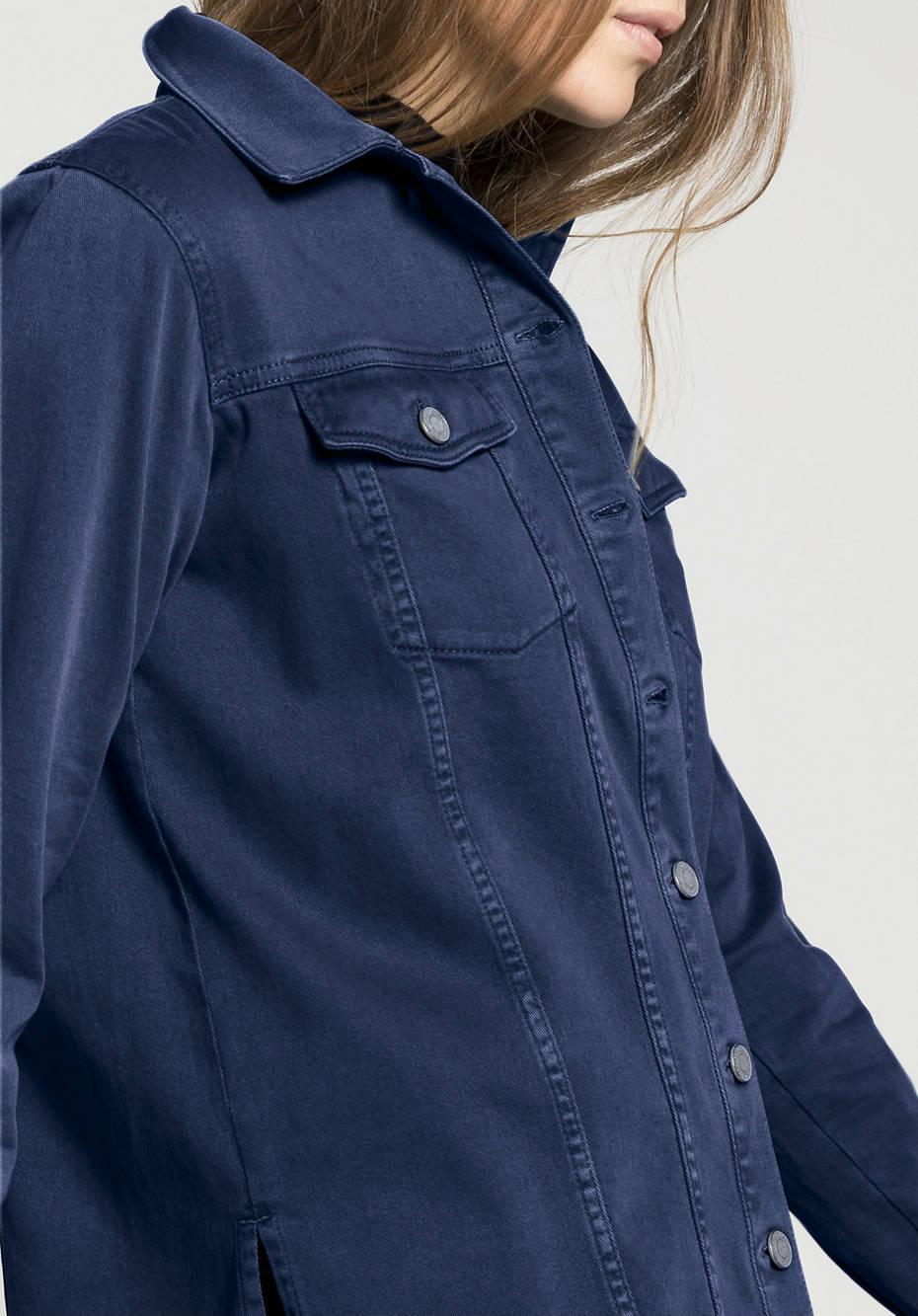 Overshirt aus Bio-Baumwolle