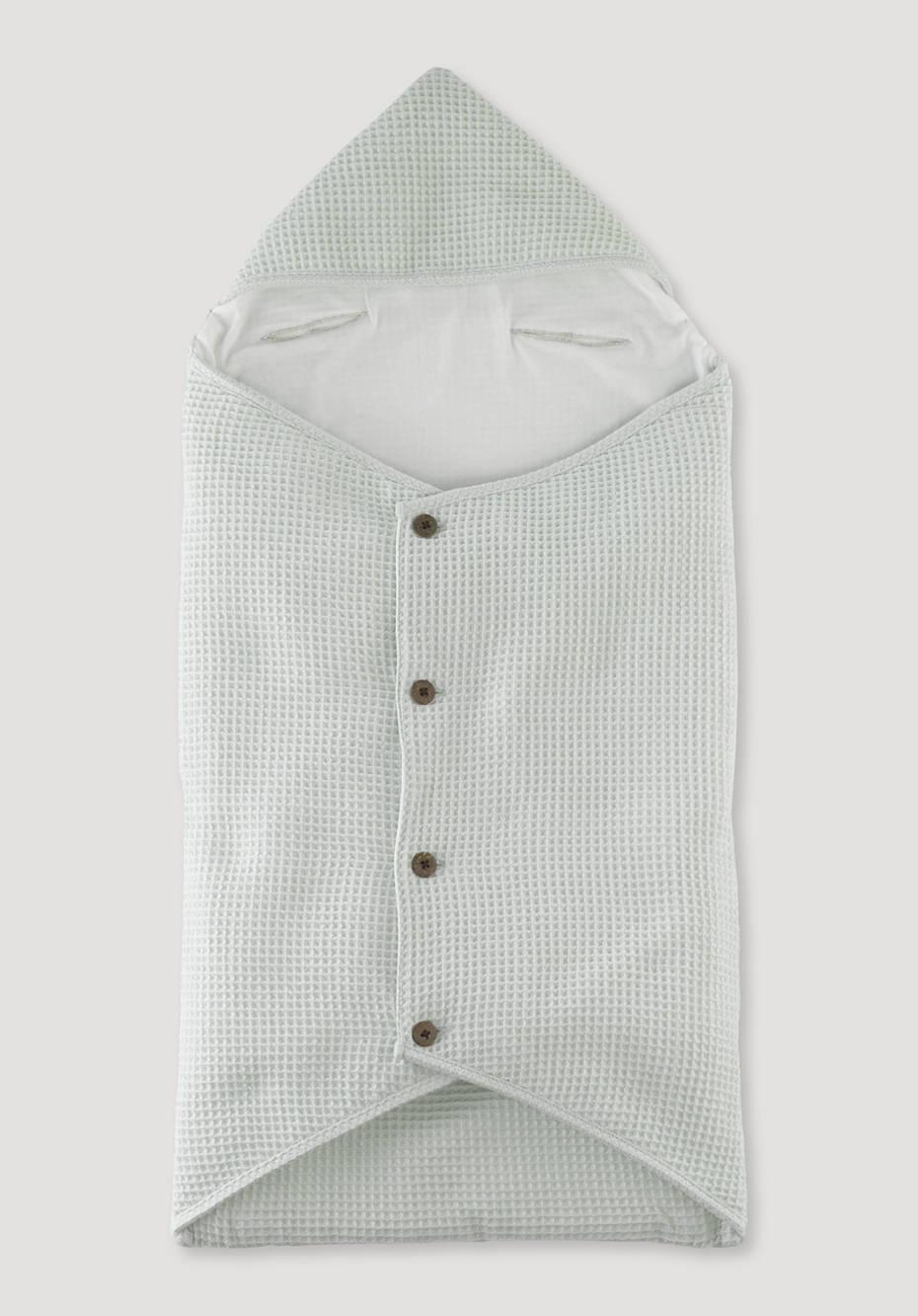 Packsack für unterwegs aus reiner Bio-Baumwolle