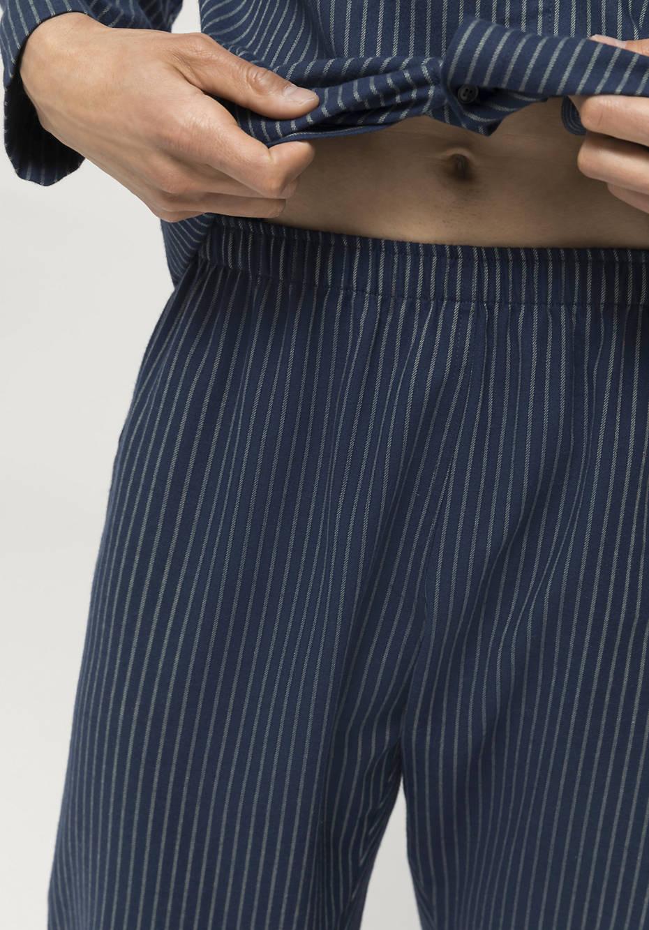 Pajama pants made of pure organic cotton