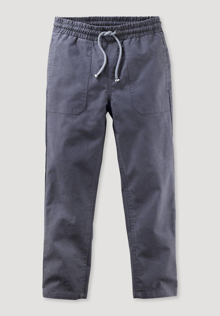 Pants made of organic cotton with hemp