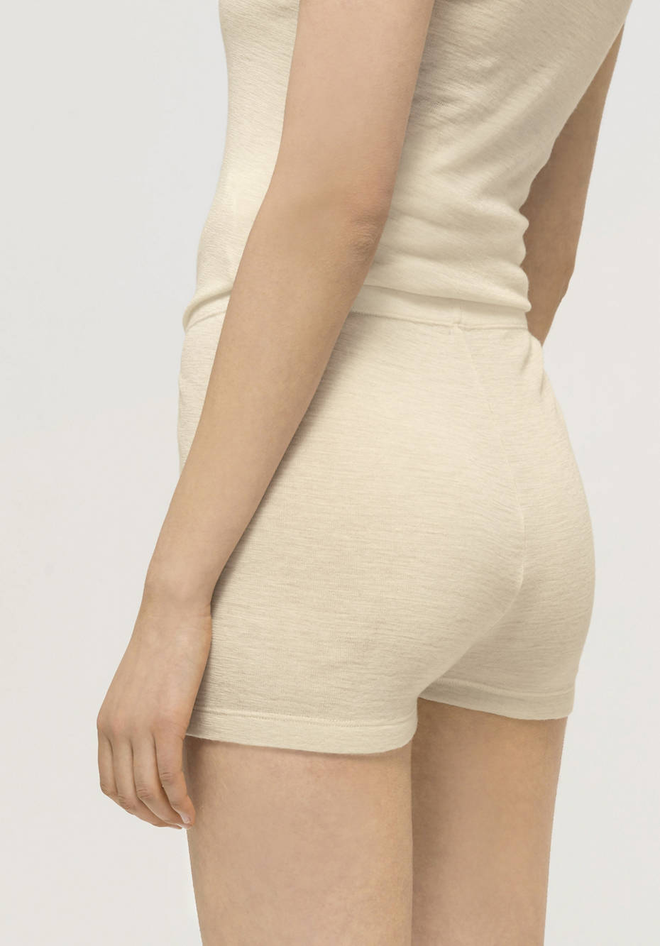 Panty made from pure organic merino wool