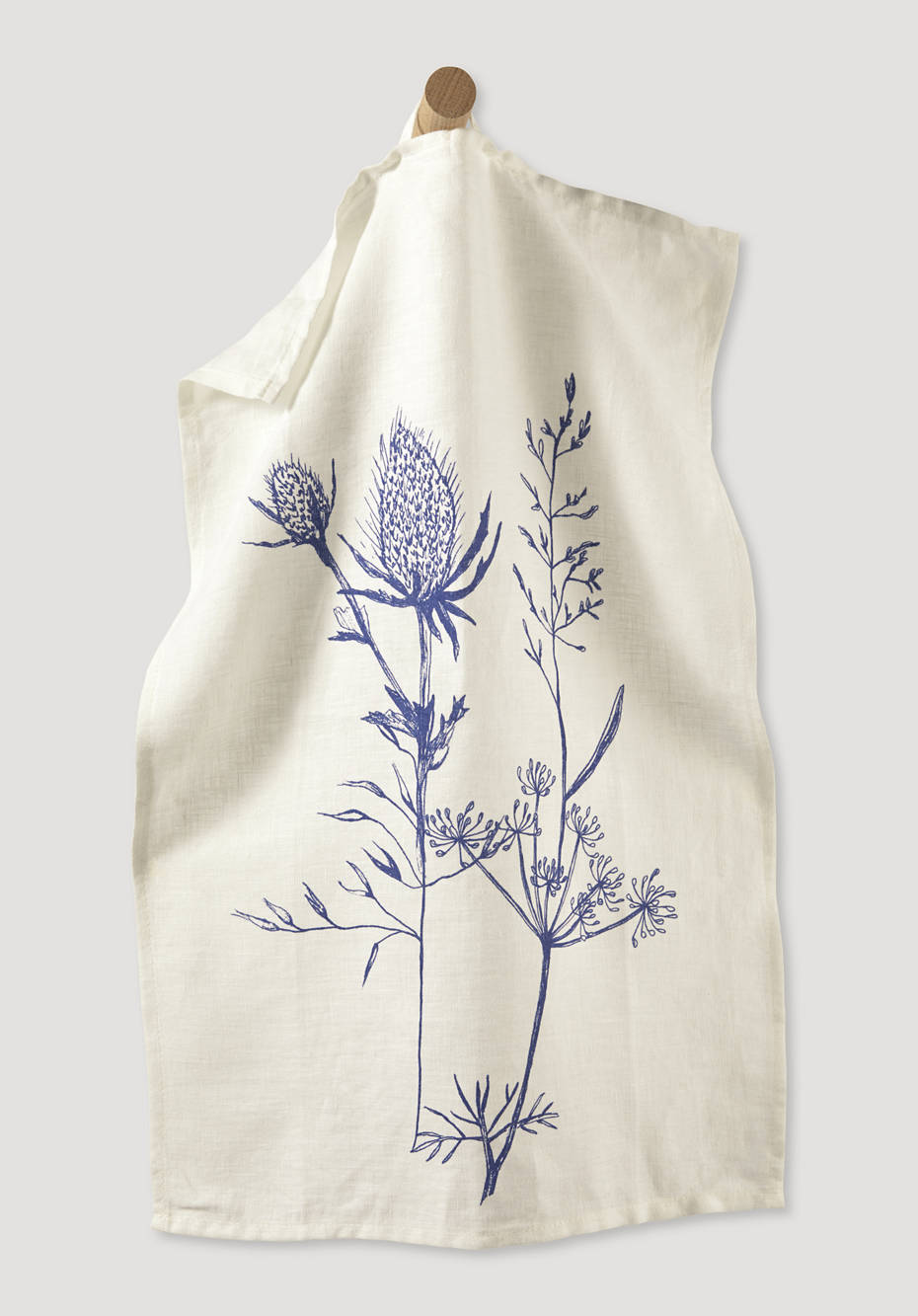 Pernille linen tea towel