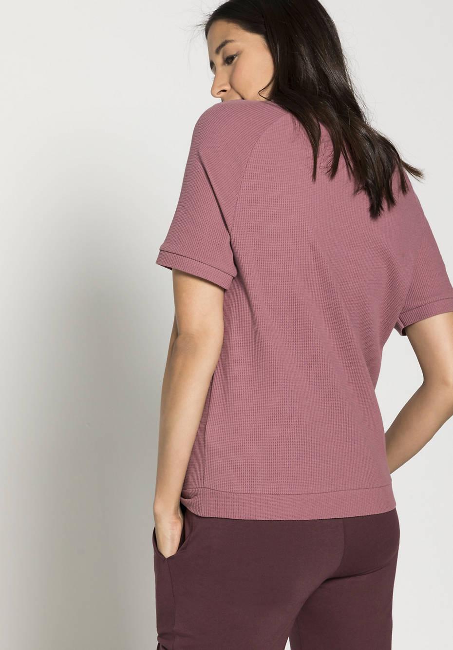 Pikee-Shirt aus reiner Bio-Baumwolle