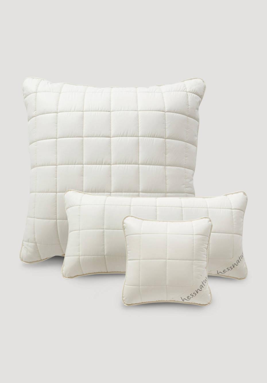 Pillow with kapok and organic cotton