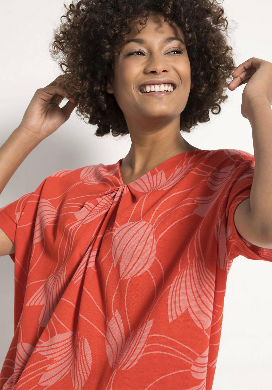 Piquée-Shirt aus reiner Bio-Baumwolle