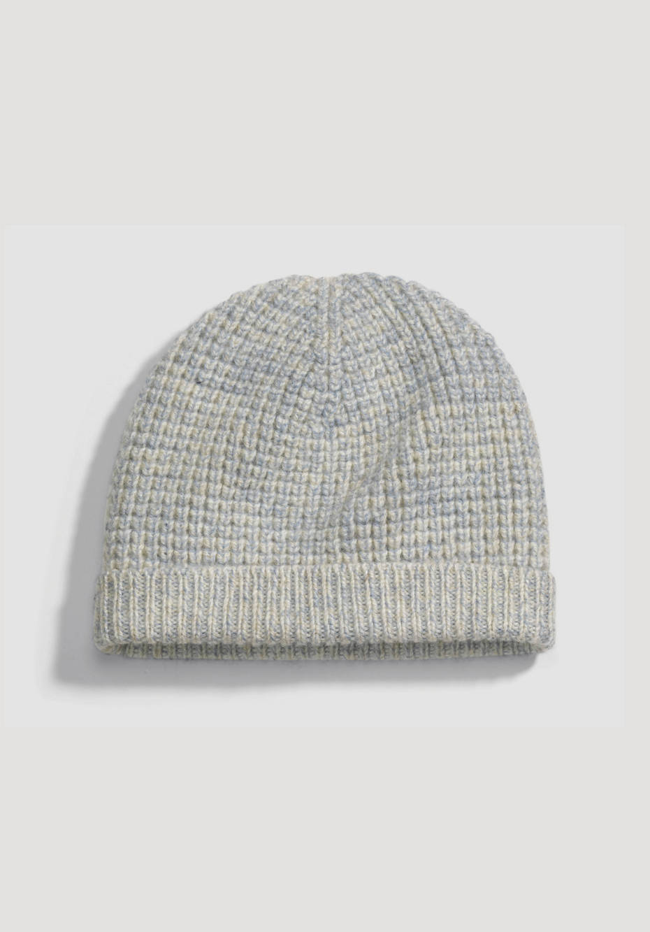 Plant-dyed hat made from pure organic merino wool