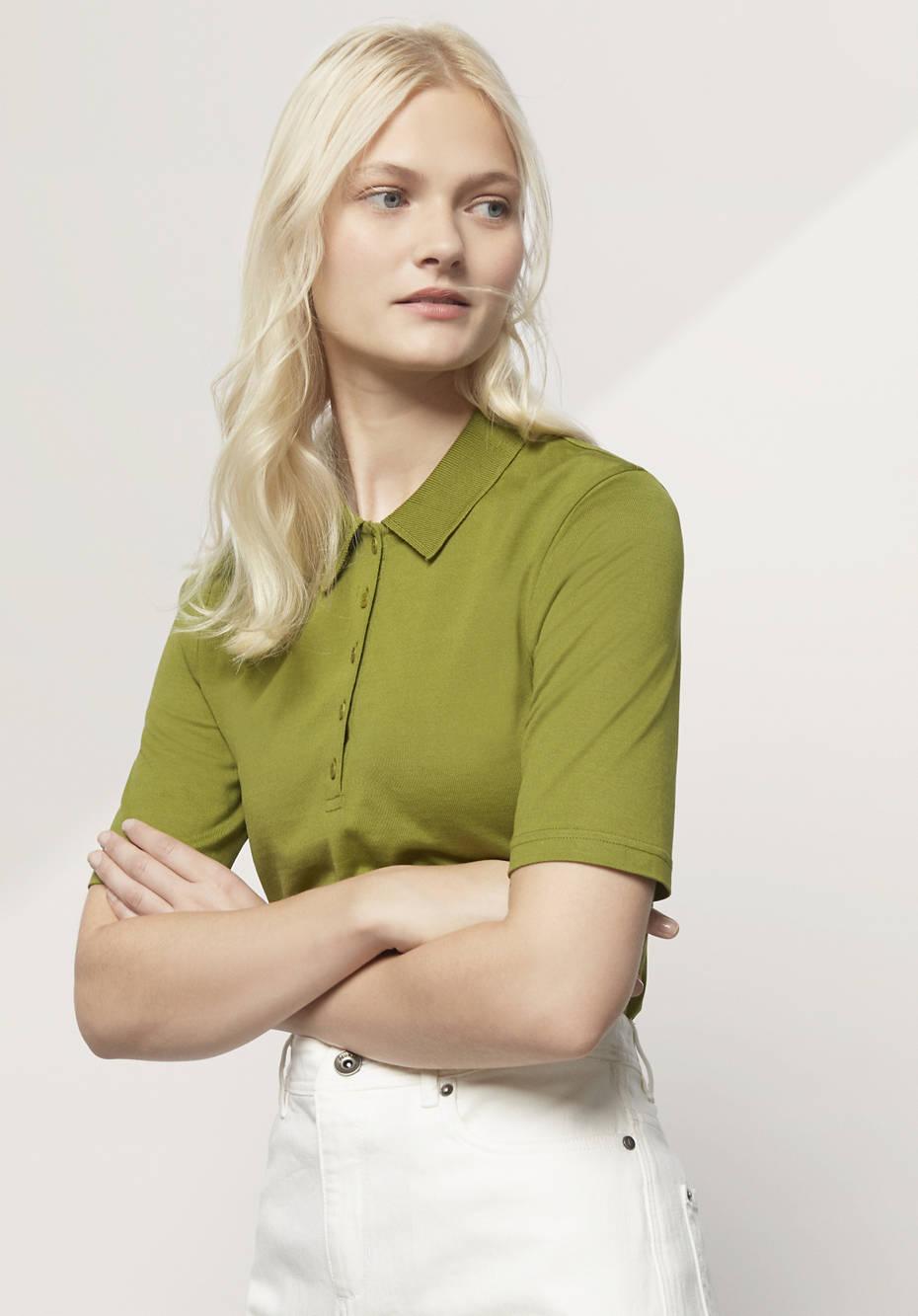 Poloshirt aus reiner Bio-Baumwolle