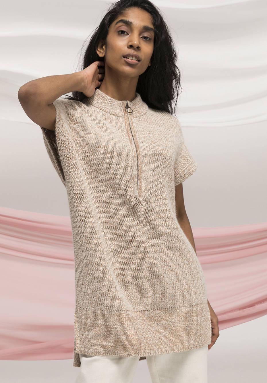 Pullover Natural Dye aus Alpaka mit Bio-Baumwolle