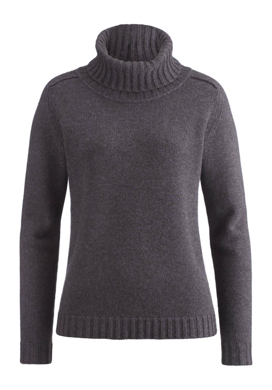 Pullover aus Schurwolle und Yakwolle