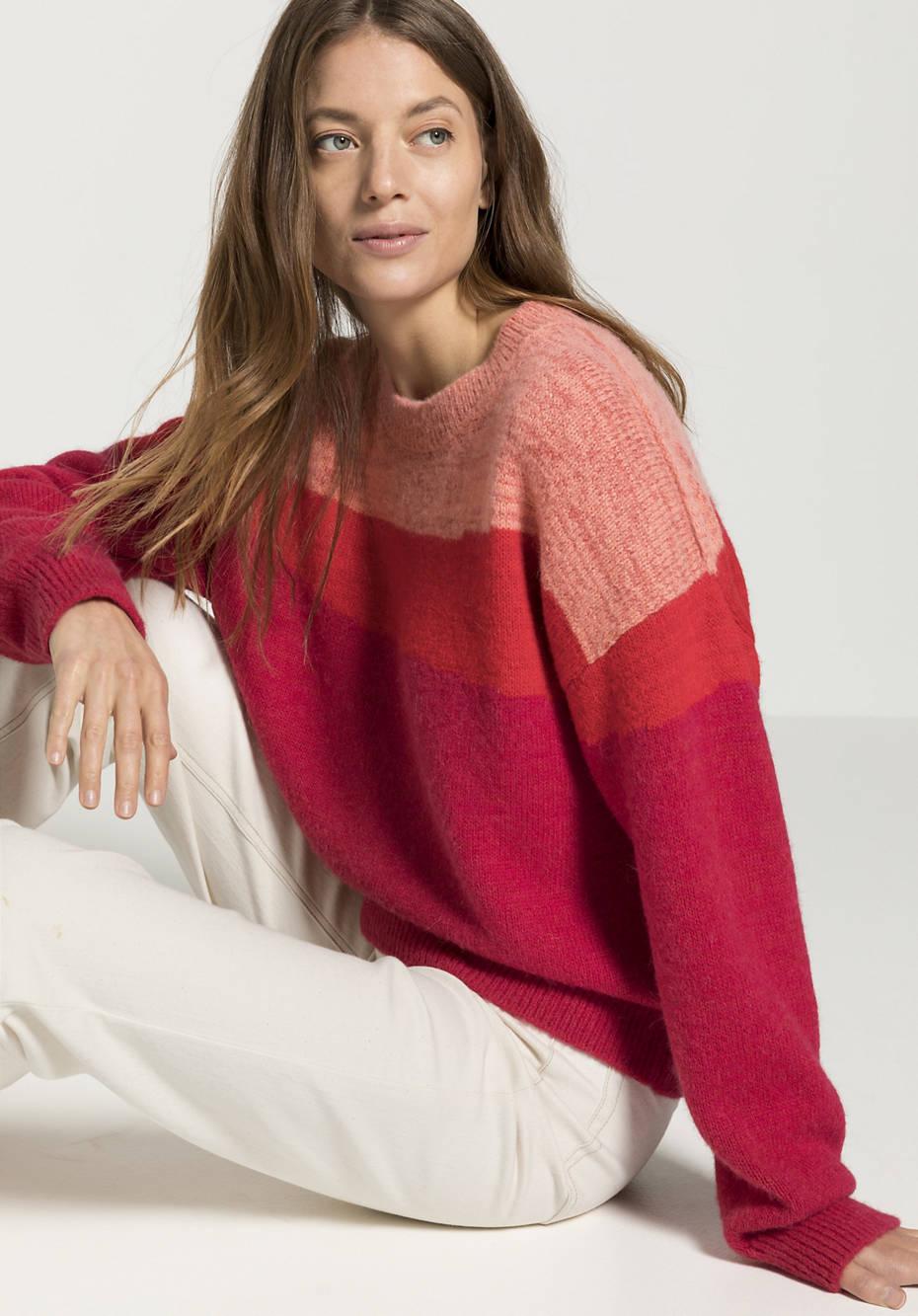 Pullover aus reinem Baby-Alpaka