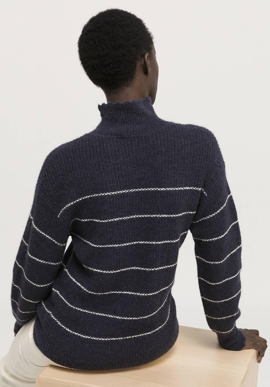 Pure alpaca sweater