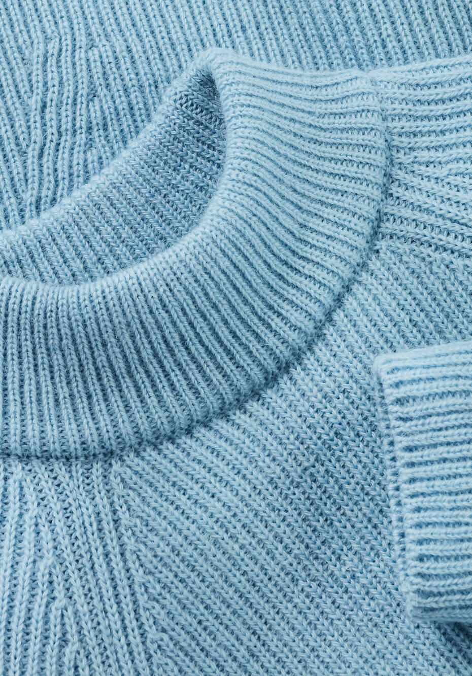 Pure new wool sweater